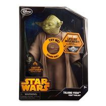 Disney Store Star Wars Yoda Luces Sonidos Y Movimientos 2015
