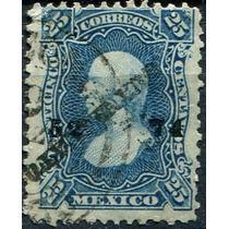 1912 Clasico 1° E Sco #109 Guanajuato #52 74 25c Usado 1874
