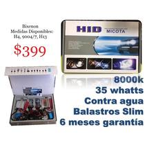 Bixenon Hid Micota 8000k Motorizado Slim