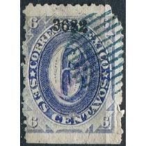 1915 Clasico Scott #149 Guanajuato #3682 6c Usado 1882