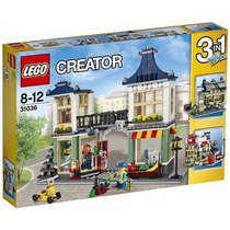 Lego Creator 31036 Tienda De Juguetes Y Mercado!! Metepec