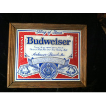 Cuadro Espejo Budweiser