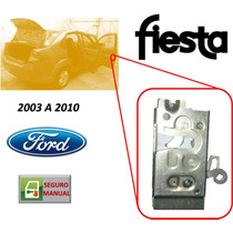 03-10 Ford Fiesta Cerradura Manual Puerta Delantera Derecha
