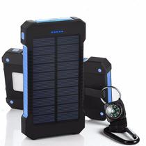 [cargador Solar 10000mah Con La Linterna Led] Hallomall