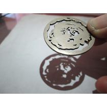 Moneda Que Proyecta Rostro De Jesus De Plata Ley .100