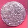 Moneda 1/4de Real 1836 Mexico Cobre