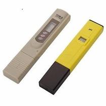 Kit De Medidores Tipo Pluma Digitales Ph Temperatura Y Tds