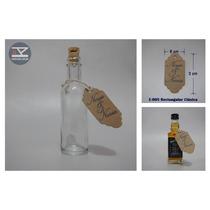 E-005 Etiqueta Clasica Vintage Kraft 32 Pz Personalizadas