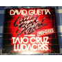 David Guetta Taio Cruz & Ludacris Little Bad Girl Cd Promo