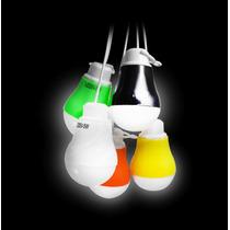 Foco Led Con Cable Usb Luz Blanca Ahorrador Varios Colores