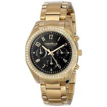 Reloj Caravelle New York Dorado Femenino