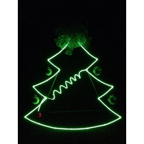 Electroluminiscente El Wire Figura Navidad Lo Mas Nuevo 2015