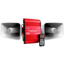 Kit Publidifusion Plus Portable Perifoneo Mp3/usb/sd 1400w