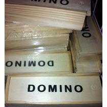 Articulos Promocionales Domino De Madera Pon Tu Marca Logo