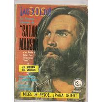 Revista Fotonovela Auxilio#1 Charles Manson Sharon Tate 1971
