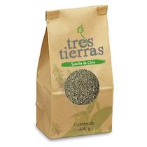 Semillas De Chia Negra, Pinta Y Tostada (400gr.)