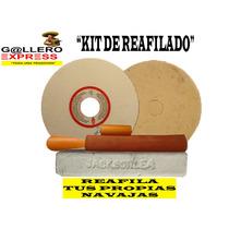 Kit De Reafilado Para Gallos De Pelea