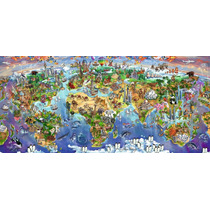 Puzzle Ravensburger 2000 Piezas Maravillas Del Mundo 16698