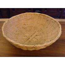 Chiquihuite Canasta Grande Original Estilo Antiguo. El Mejor