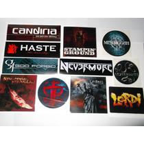 Sticker Oficial Calcomania Metal Core Industrial Heavy