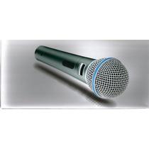 Microfono Dinamico Para Voz Rider Beta 58a