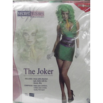 Dr.veneno Disfraz The Joker Talla Medium Marca Secret Wishes