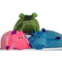 Cojín Animal Hipopotamo
