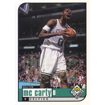 1998-99 Ud Choice Reserve Walter Mccarty Celtics