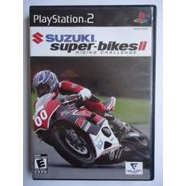 Suzuki Super Bikes 2 Ii Para Playstation 2 Ps2 Completo Esp.