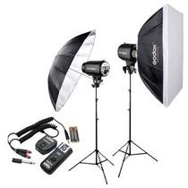 Estudio Fotografico Godox 500 Watts Retrato Publicidad
