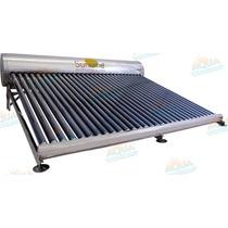 Calentador Solar 30 Tubos Sin Subir Tinaco Acero Inoxidable