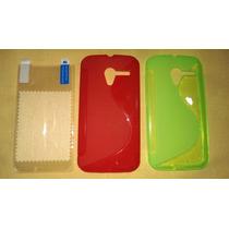 Protector Tpu Motorola Xt1058 (moto X) + Mica