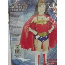 Dr.veneno Disfraz Liga De La Justicia Wonder Woman