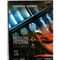 Libro Medicina Interna De Farreras Edicion 17° Nuevo