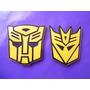 Emblemas Transformers Autobot Decepticons Camaro Colores