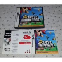 New Super Mario Bros Nintendo Ds Solo Caja Y Manual