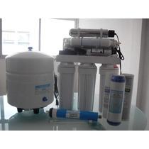 Purificador De Agua Ósmosis Inversa,rayos Uv, Tanque Y Bomba