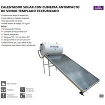 Calentador Solar Con Instalación 150 Plano Vtexturizado Iusa