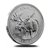 Moneda Plata , 1 Oz !! Serie Animales Canada 2012 !!