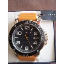 Reloj Tommy Hilfiger Modelo 1790852 Con Estuche Y Documentos