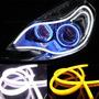 Tira Led Flexible Drl Luz De Dia 60 Cms Color Blanca
