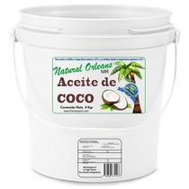 Aceite Natural De Coco Extraido En Frio De 1 Galon