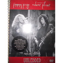 Dvd Jimmy Page Y Robert Plant ( No Quarter Unledded )