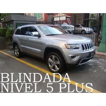 Grand Cherokee 2014 Blindada Nivel 5 Plus V8 4x4 Sin Rodar