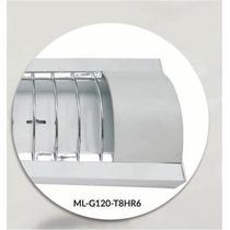 Gabinete Led Incluye Focos Led Tubo Lineal T8 36w Lampara