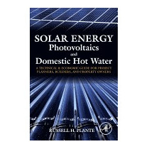 Solar Energy, Photovoltaics, And Domestic, Russell H Plante