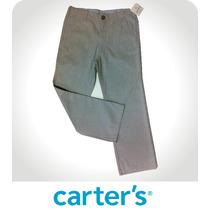 Pantalon Para Niño Talla 7 Original Carter