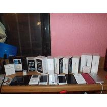 Cajas Para Apple Iphone 3gs, 4, 4s Y 5 Completas Manuales