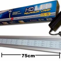Lampara Led 75cm Acuarios Plantas Acuaticas 9w Aluminio Co2