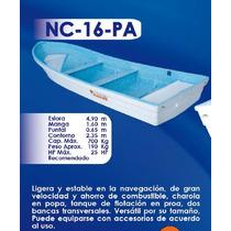 Lancha Fibra De Vidrio 16 Pies Nc-16-pa | Argos